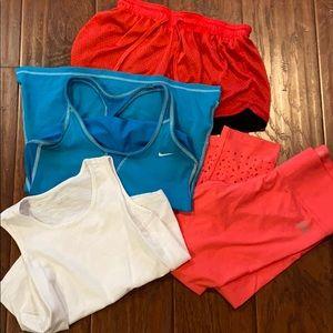 Bundle tanks shorts and tights